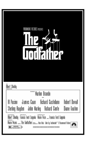 Poster O Poderoso Chefão - The Godfather