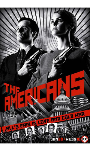 Poster The Americans Os Americanos