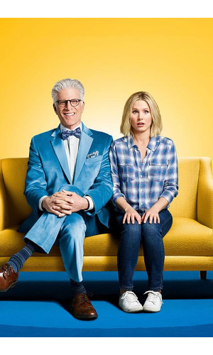 Poster The Good Place O Bom Lugar