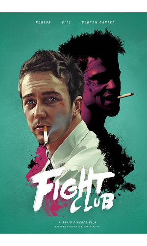 Poster Clube Da Luta - Fight Club - Alternativo