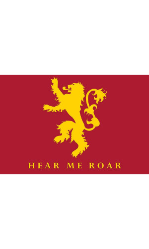 Poster Game Of Thrones Got Casa Lannister