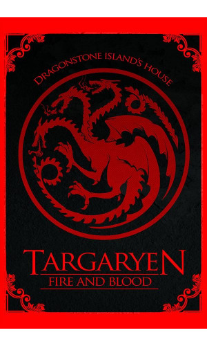 Poster Game Of Thrones Got Casa Targaryen