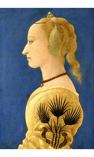 Poster Baldovinetti Alessio - Portrait Of A Lady In Yellow