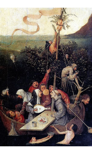 Poster Bosch Hieronymus - The Ship Of Fools