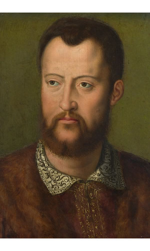 Poster Bronzino Agnolo - Portrait Of Cosimo I de' Medici Grand duke Of Tuscany