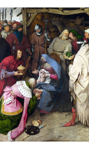 Poster Bruegel Pieter The Elder - 08.Religious Theme - The Adoration Of The Kings 1