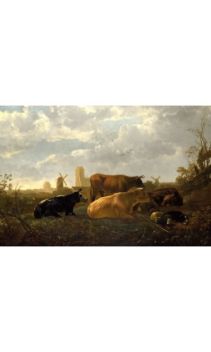 Poster Cuyp Aelbert - The Small dort