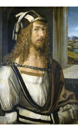 Poster durer Albrecht - Self Portrait At 26