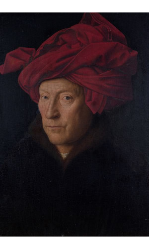 Poster Eyk Jan Van - Portrait Of A Man Self Portrait