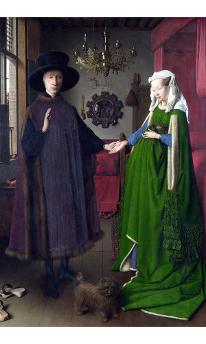 Poster Eyk Jan Van - The Arnolfini Portrait