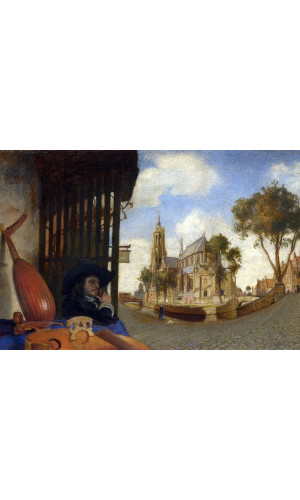 Poster Fabritius Carel - View Of The City Of delft