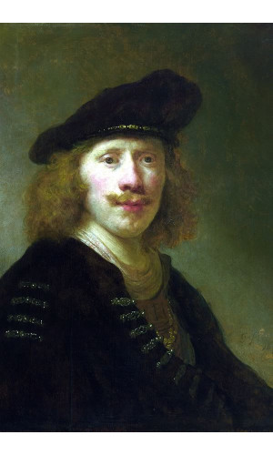 Poster Flinck Govert Teunisz - Self Portrait Aged 24