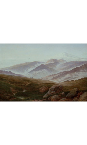 Poster Friedrich Caspar david - Riesengebirge Memories Of The Riesengebirge
