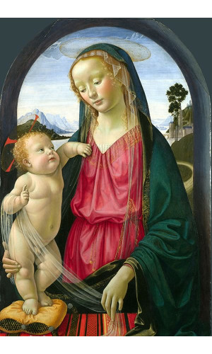 Poster Ghirlandaio domenico - The Virgin And Child