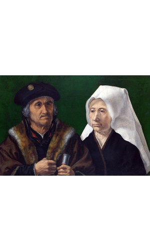 Poster Gossaert Jan Called Mabuse - An Elderly Couple