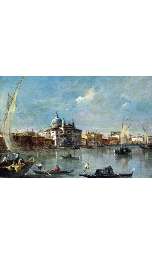 Poster Guardi Francesco - The Giudecca With The Zitelle