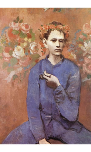 Poster Pablo Picasso Boy With A Pipe 1905