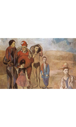 Poster Pablo Picasso Family Of Saltimbanques 1905