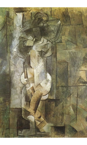 Poster Pablo Picasso Nude 1910