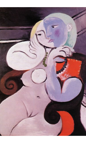 Poster Pablo Picasso Nude Woman In A Red Armchair 1932