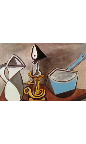 Poster Pablo Picasso Pitcher Candle And Casserole 1945