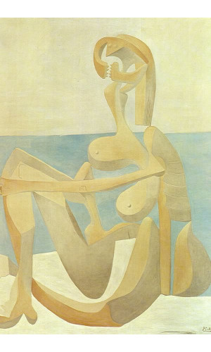 Poster Pablo Picasso Seated Bather 1930