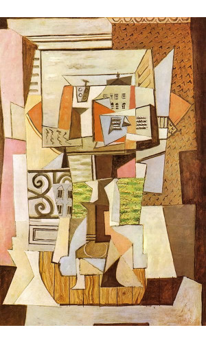 Poster Pablo Picasso Still Life On A Table 1920