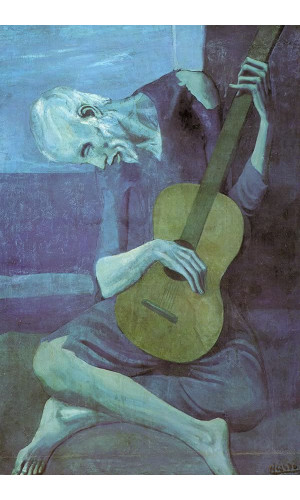 Poster Pablo Picasso The Old Guitarist 1903