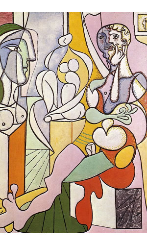 Poster Pablo Picasso The Sculptor 1931