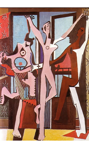 Poster Pablo Picasso The Three dancers 1925