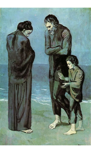 Poster Pablo Picasso The Tragedy 1903