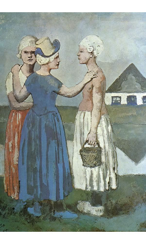 Poster Pablo Picasso Three dutch Girls 1905