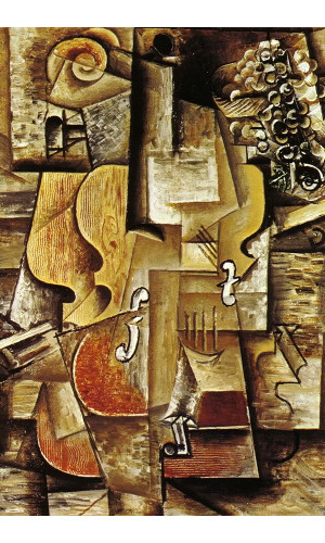 Poster Pablo Picasso Violin And Grapes 1912