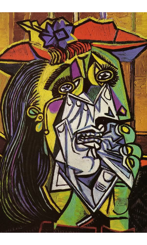 Poster Pablo Picasso Weeping Woman 1937