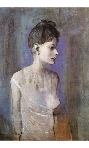 Poster Pablo Picasso Woman In A Chemise 1905