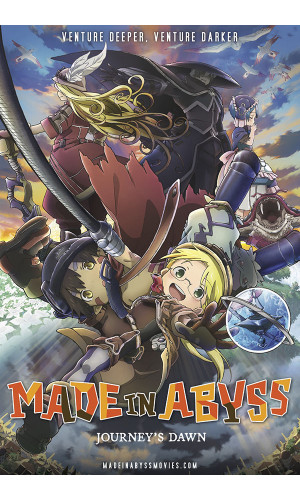 Poster Made In Abyss Dawn - Animes