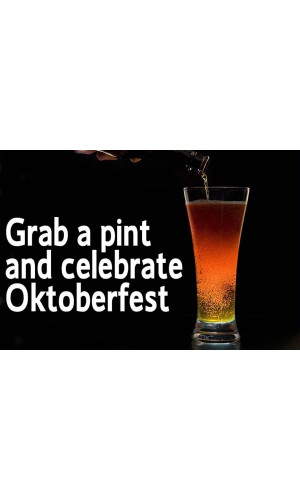 Poster Grab a Print and Celebrate Oktoberfest