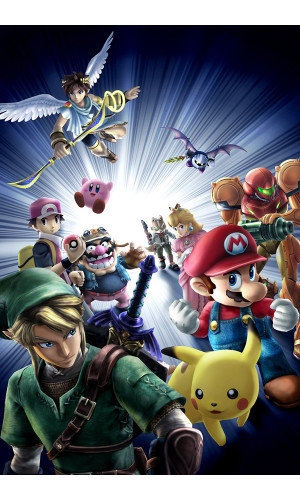 Poster Super Smash Bros