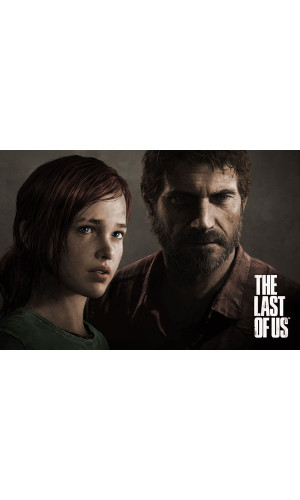 Poster Super The Last Of Us Tlou