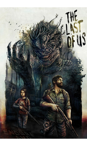 Poster  The Last of Us - TLOU
