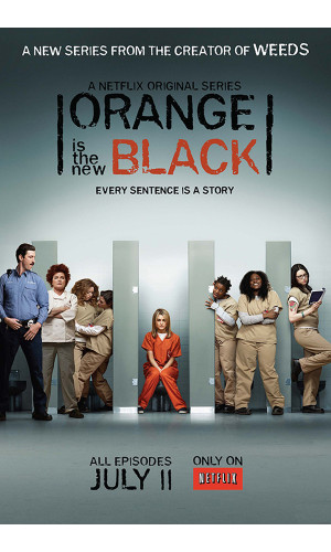 Poster Seriado Orange Is The New Black Oitnb