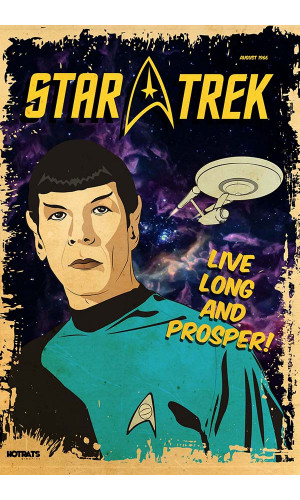 Poster Star Trek Retrô