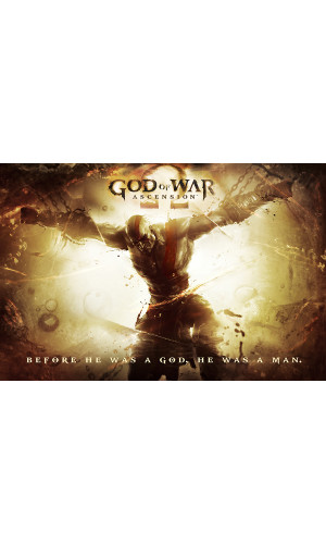 Poster God of War - Kratos - GOW