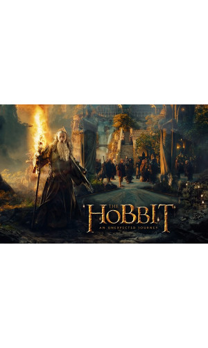 Poster Hobbit Jornada Inesperada - The Hobbit An Unexpected Journey - Lord Of The Rings