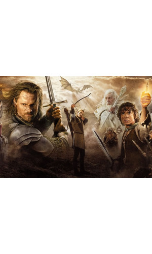 Poster Senhor Dos Aneis - Lord Of The Rings