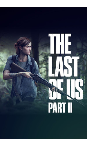Poster The Last Of Us Part II - Tlou II - Games