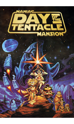 Day of the Tentacle - Maniac of the Mansion