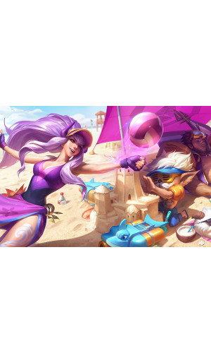 Poster League Of Legends - LOL - Pool Party Syndra - Games