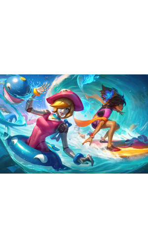 Poster League Of Legends - LOL - Pool Party Taliyah - Games