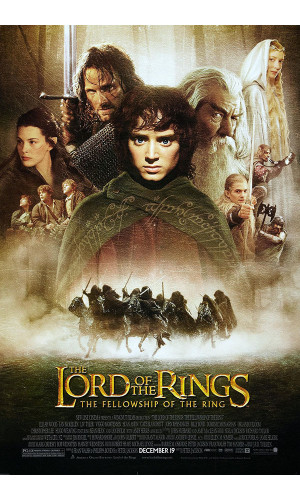 Poster Senhor Dos Aneis Lord Of The Rings - Filmes